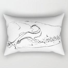 Fox Skull Rectangular Pillow
