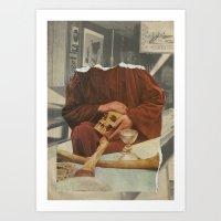 rare Art Prints featuring RARE-BREEDS by Nicholas Lockyer