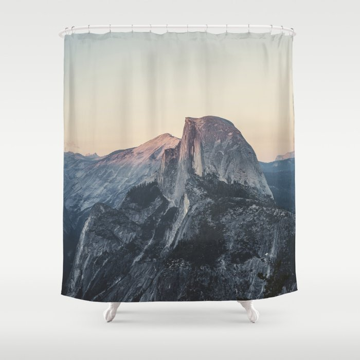 half dome shower curtain by hraunphotography society6. Black Bedroom Furniture Sets. Home Design Ideas