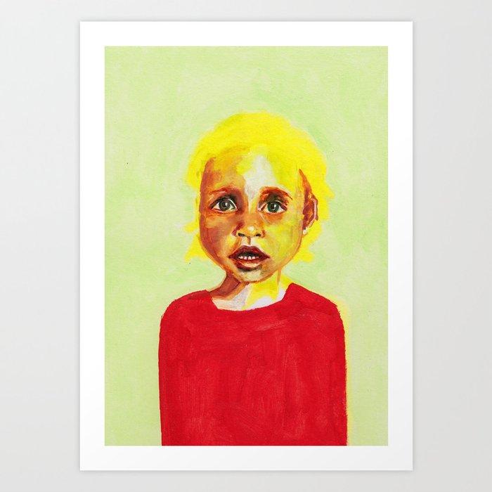 Les petites filles I.2 Art Print