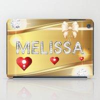 melissa smith iPad Cases featuring Melissa 01 by Daftblue