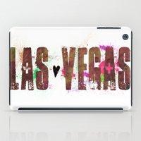 las vegas iPad Cases featuring Las Vegas by Tonya Doughty