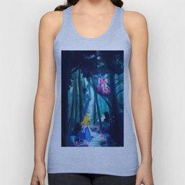 Alice in Wonderland Unisex Tank Top