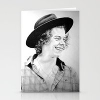 harry Stationery Cards featuring HARRY by Drawpassionn