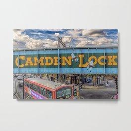 London -  Camden Lock Day Time - Camden Market Metal Print