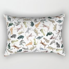 Nature Cats Rectangular Pillow