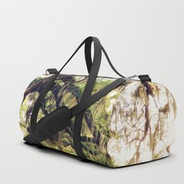 Live Oak Tree with Spanish Moss Duffle Bag