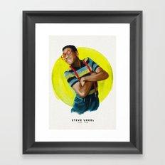 Steve Urkel Framed Art Print