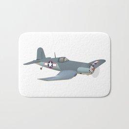 Corsair WWII Airplane Bath Mat