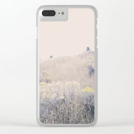 August Gold Clear iPhone Case