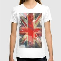 union jack T-shirts featuring Union Jack by Honeydripp Designs