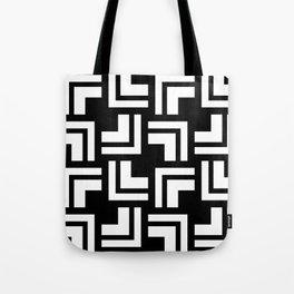 Black and White - L1 Tote Bag