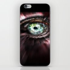 Eye from Above iPhone & iPod Skin