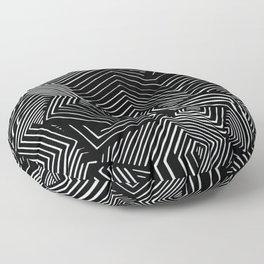 Abstract Geometric #1 Floor Pillow
