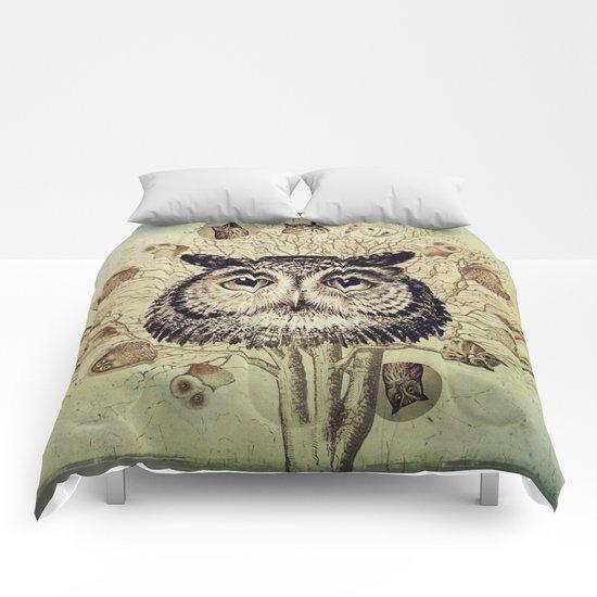 Owl Tree Comforters