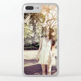 Desintegração Clear iPhone Case
