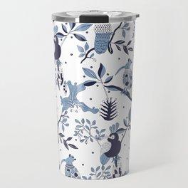 Paradise Birds Travel Mug