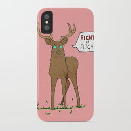 Fight or Flight iPhone Case