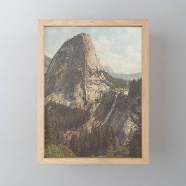 Nevada Falls Yosemite Framed Mini Art Print