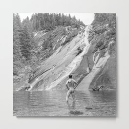 Bare Nature Metal Print
