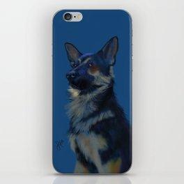 Blue Shepherd iPhone Skin