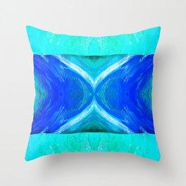 483 - Abstract colour design Throw Pillow