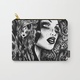 Baroque Head Carry-All Pouch
