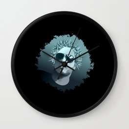Tribute to Lenny Kravitz Wall Clock