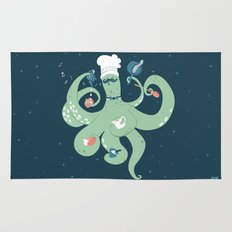 The Octopus Chef Rug