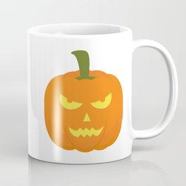 Evil light Halloween Pumpkin Coffee Mug