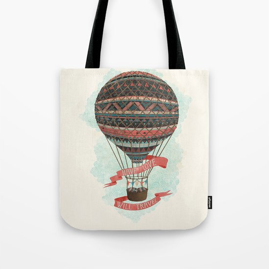 have love, will travel Tote Bag