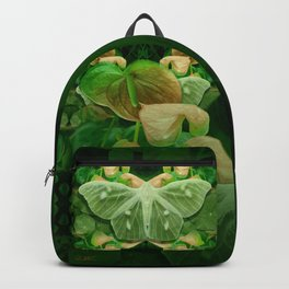 Green Glow Butterfly Backpack
