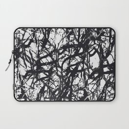 Black Trees Laptop Sleeve