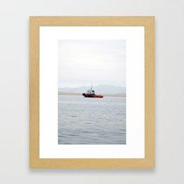 Ocean Day Framed Art Print