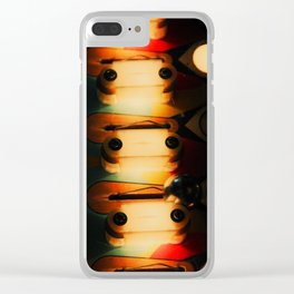 Pinball Steps Clear iPhone Case