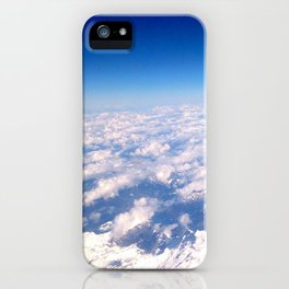 Alps from above iPhone Case