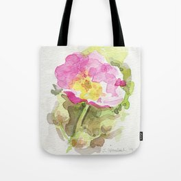 Wild Summer Rose Tote Bag