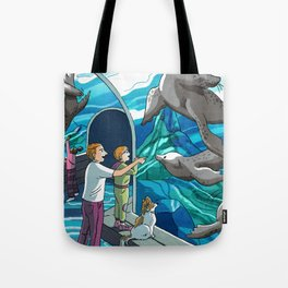 St. Louis Zoo Sea Lions Tote Bag