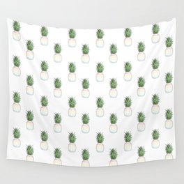 Pineapples Wall Tapestry