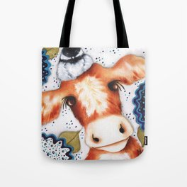 Chickadee Farm Original Art by Deb Harvey Tote Bag