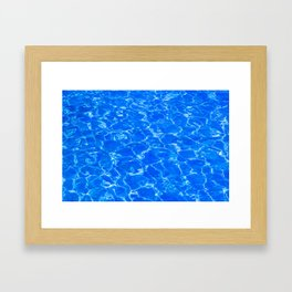 Fresh Water Framed Art Print