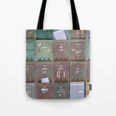 Mailboxes I Tote Bag