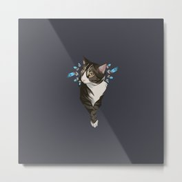 Indian cat Metal Print