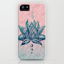 Intricate Lotus iPhone Case