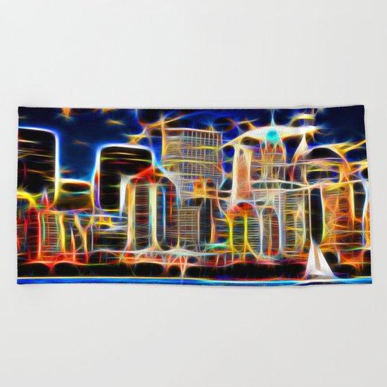 NY. Manhattan Beach Towel