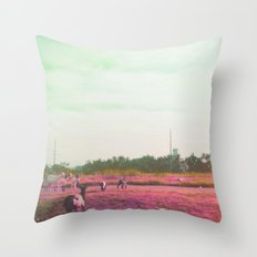 Oh these city kids Throw Pillow