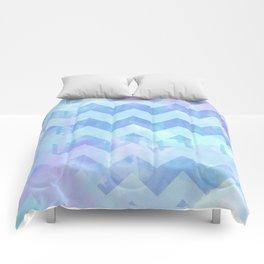Watercolour Chevron {Spring 2015 Limited Edition} No. 2 Comforters