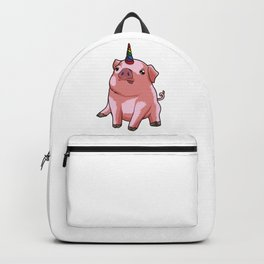 Pigicorn - Mixture Of Unicorn And Pig Backpack