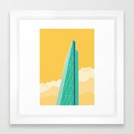 The Cheesegrater Framed Art Print
