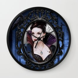 The EvilQueen Poster Wall Clock